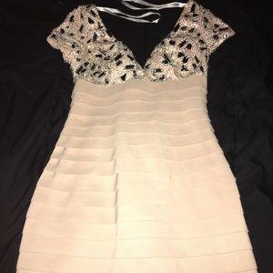 Embellished Short SHERRI HILL Prom Dress